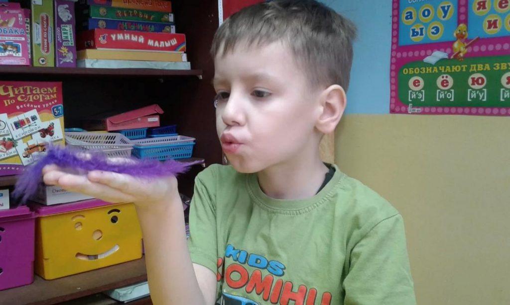 """Детская игра """"Перышко"""" для детей 5-6 лет"""