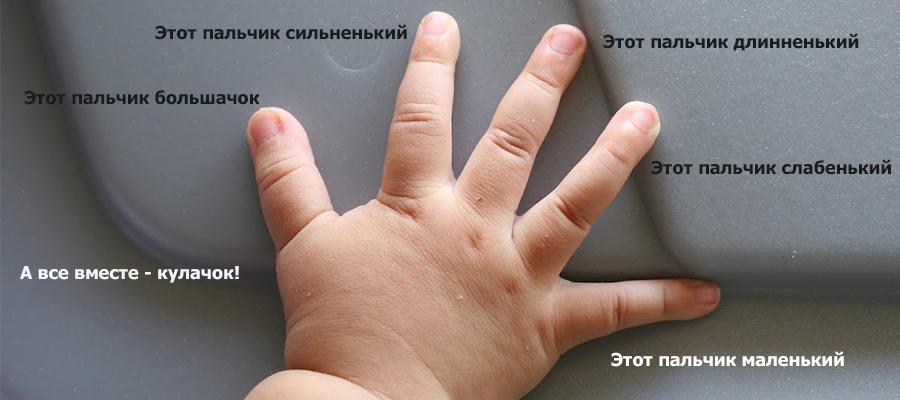 Пальчиковая гимнастика для детей. Из опыта воспитателя